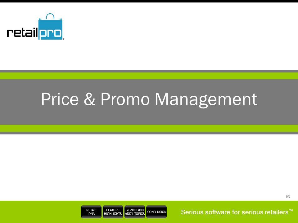 Price & Promo Management