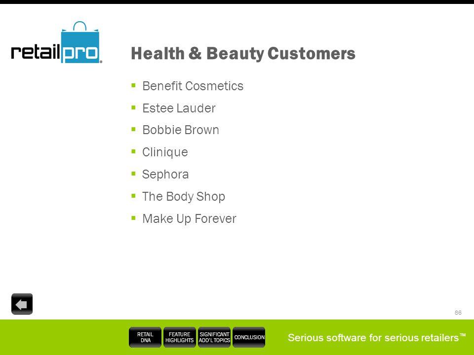 Health & Beauty Customers