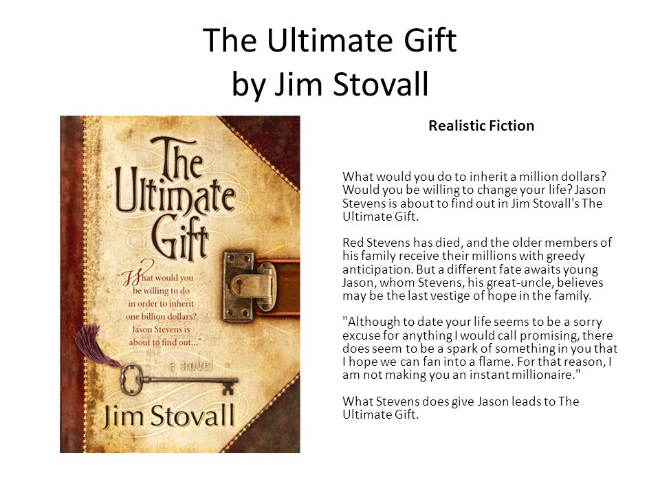 The Ultimate Gift by Jim Stovall