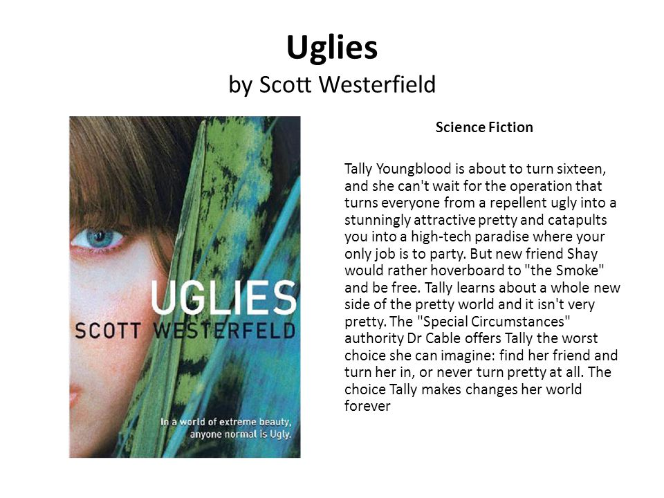 Uglies by Scott Westerfield