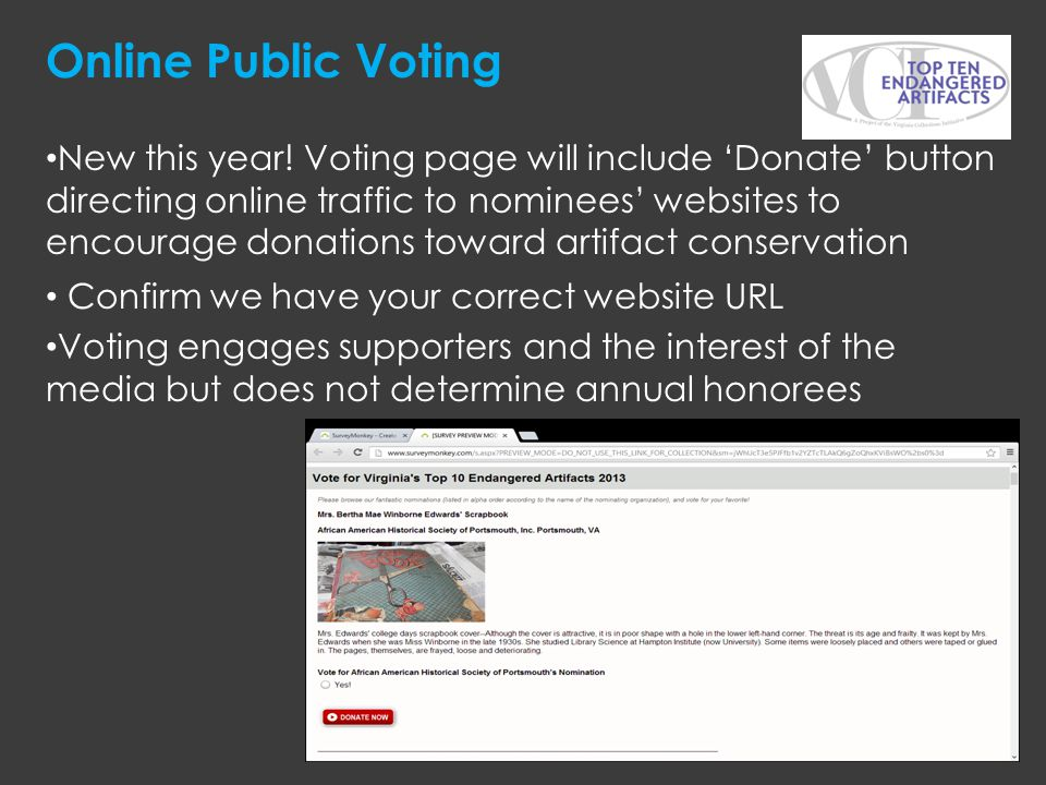 Online Public Voting
