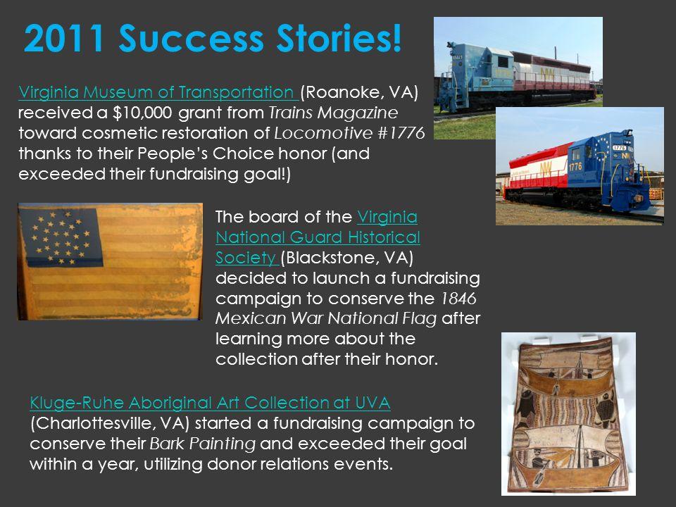 2011 Success Stories!