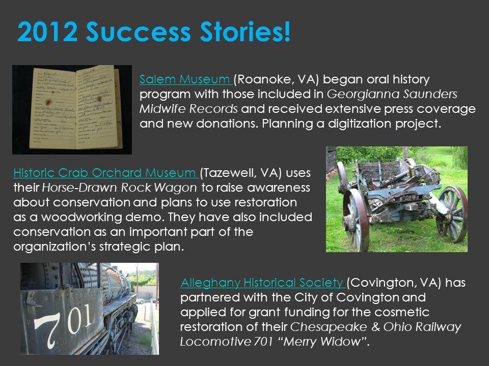 2012 Success Stories!