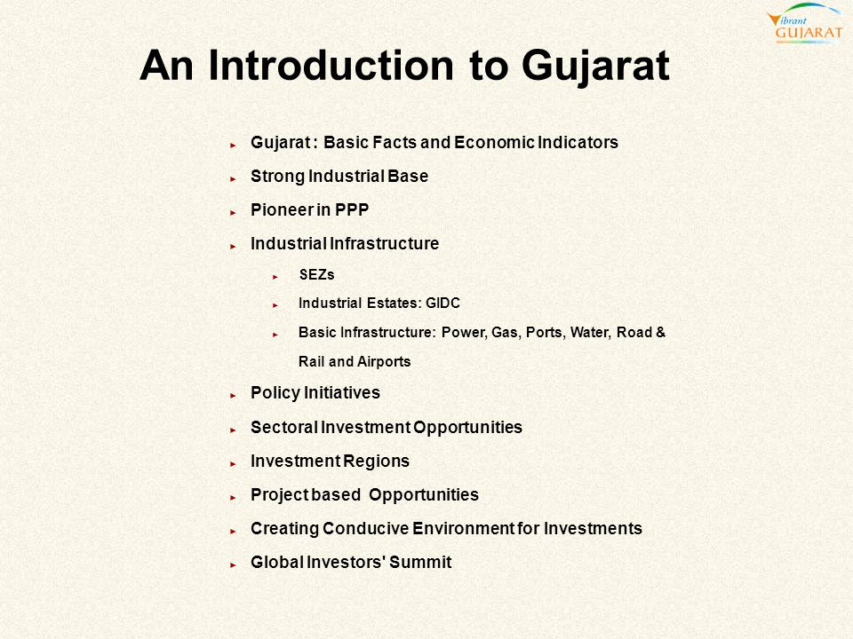 An Introduction to Gujarat