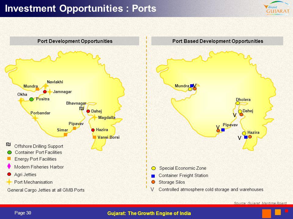 Port Development Opportunities Port Based Development Opportunities