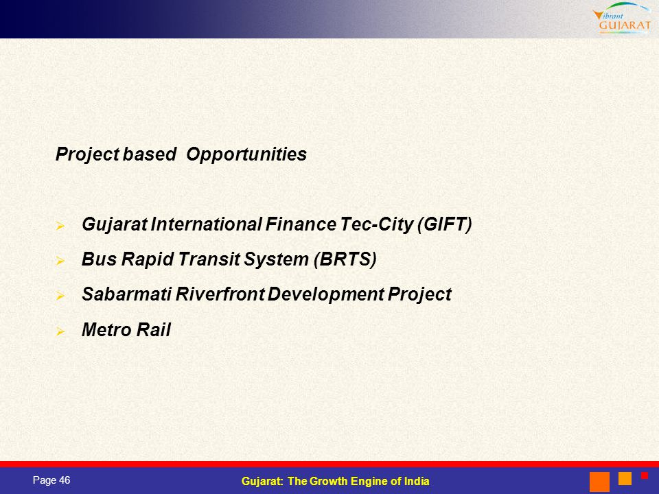 Project based Opportunities