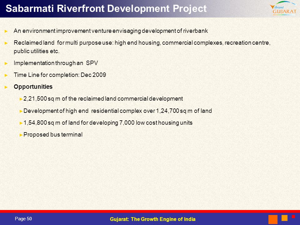 Sabarmati Riverfront Development Project