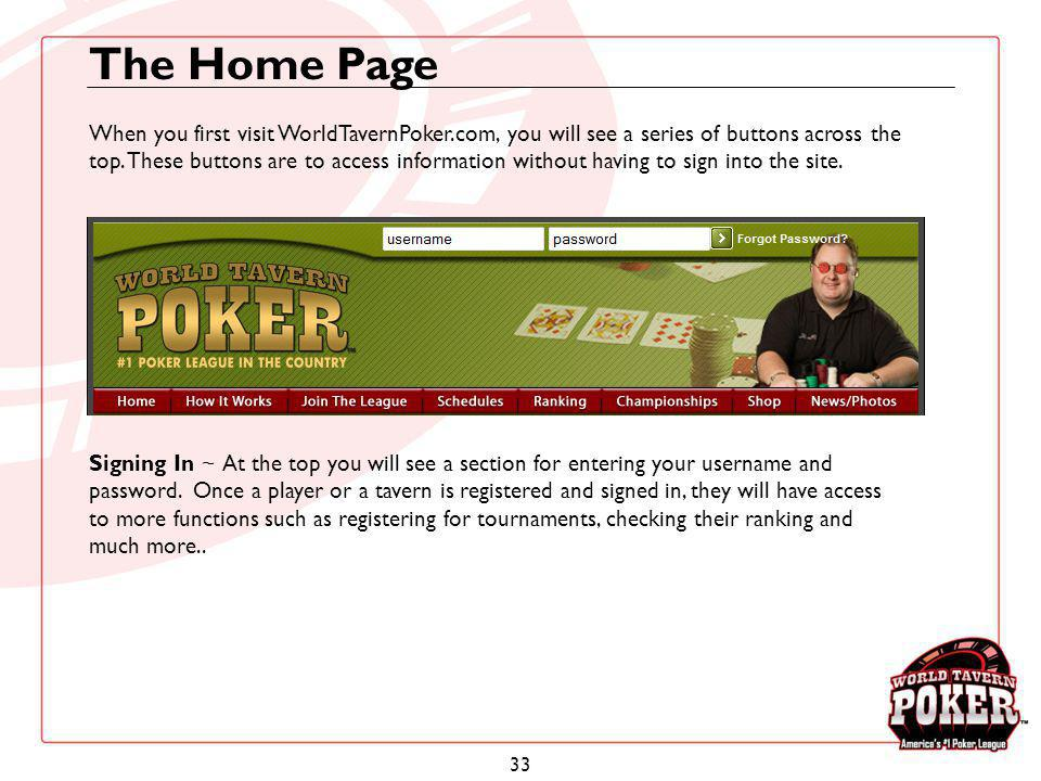The Home Page