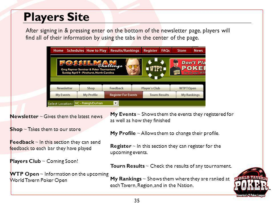 Players Site