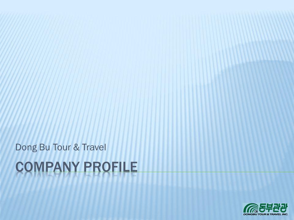 3/31/2017 Dong Bu Tour & Travel COMPANY PROFILE