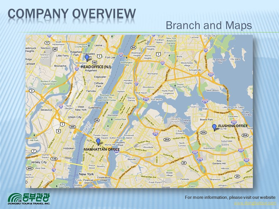 Company Overview 3/31/2017 Branch and Maps