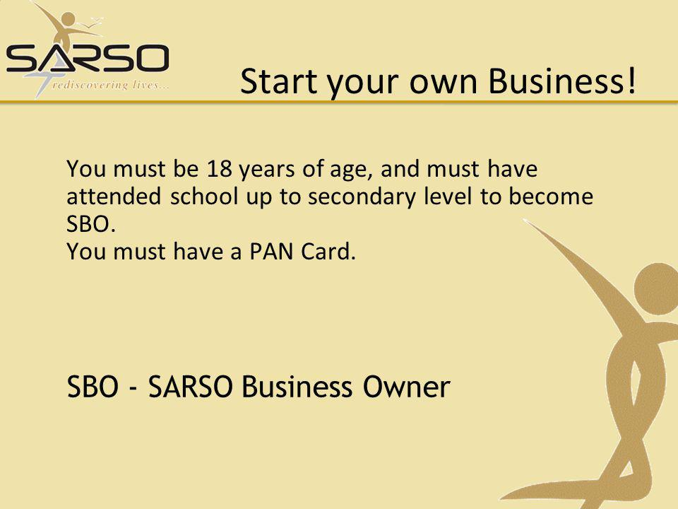 Start your own Business!