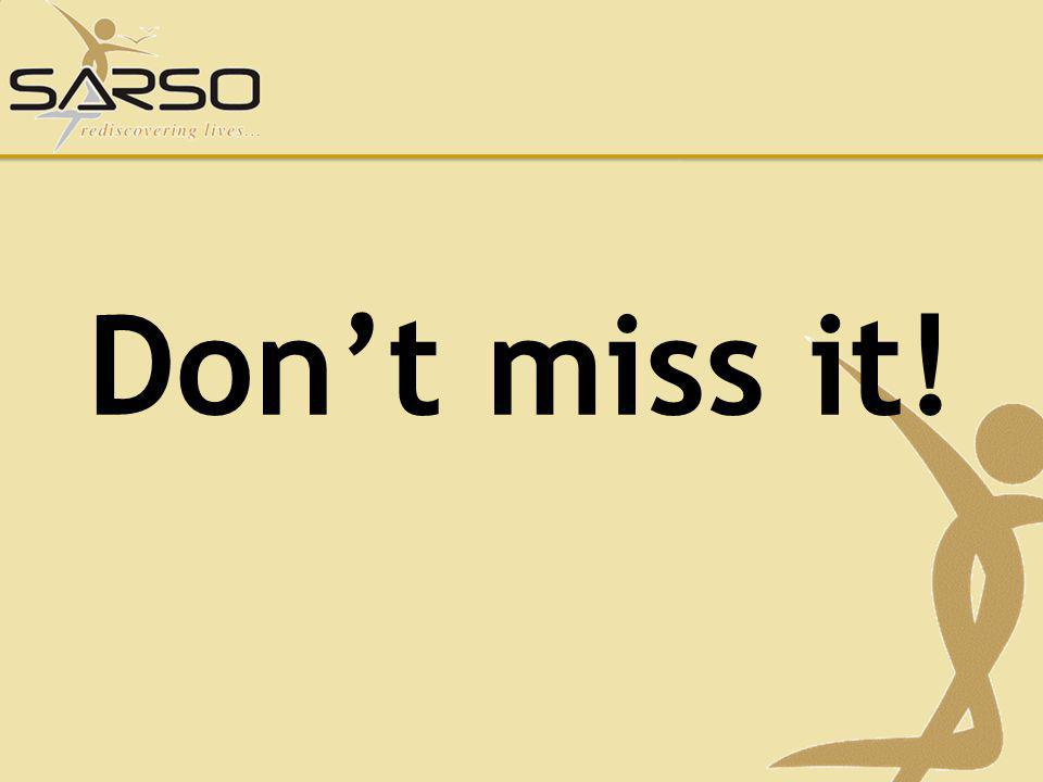 Don't miss it!