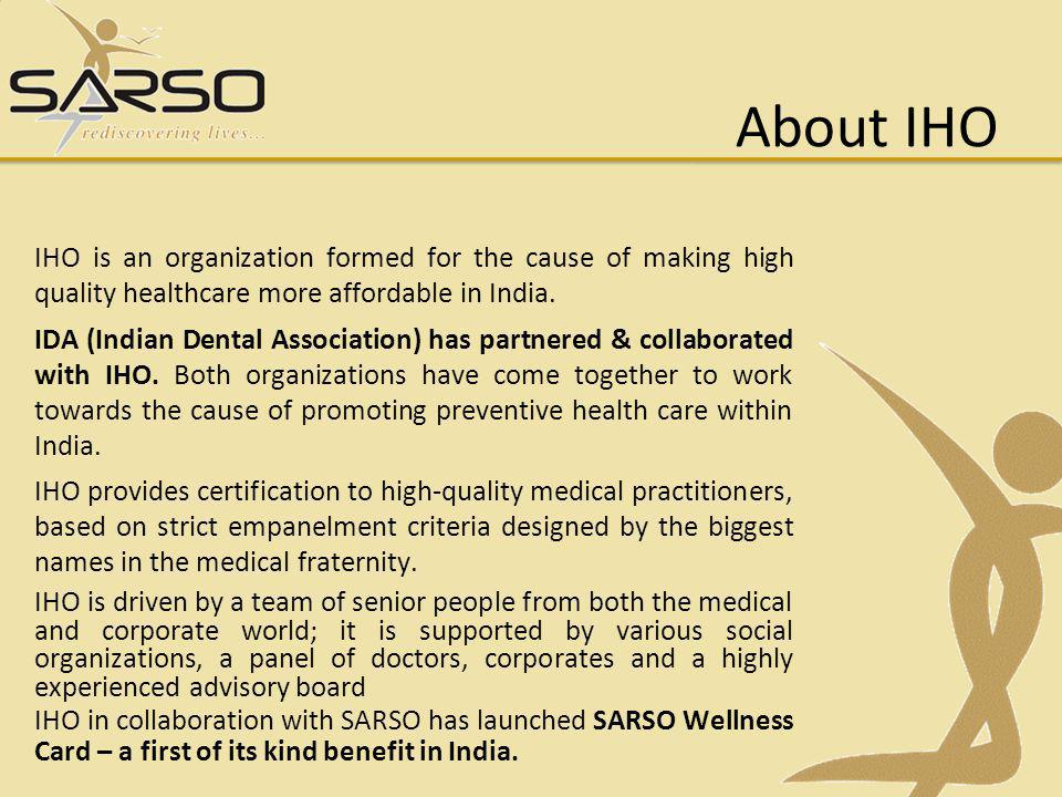 About IHO