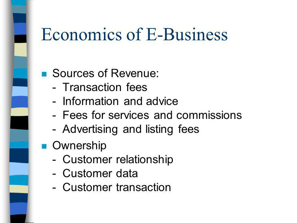 Economics of E-Business