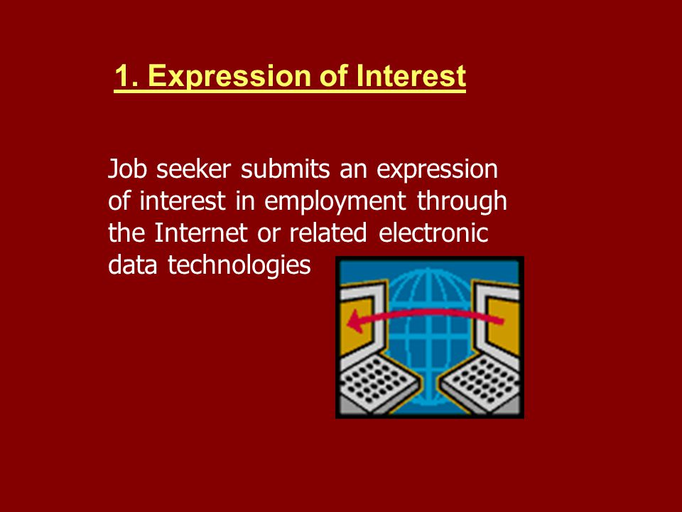 1. Expression of Interest