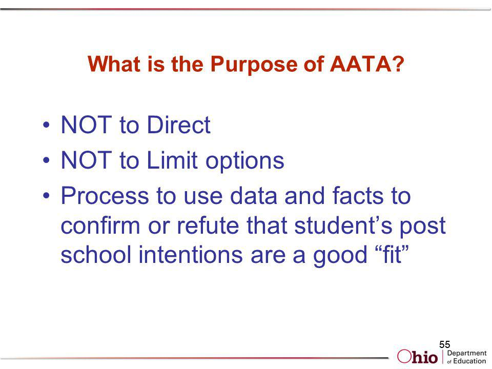 What is the Purpose of AATA