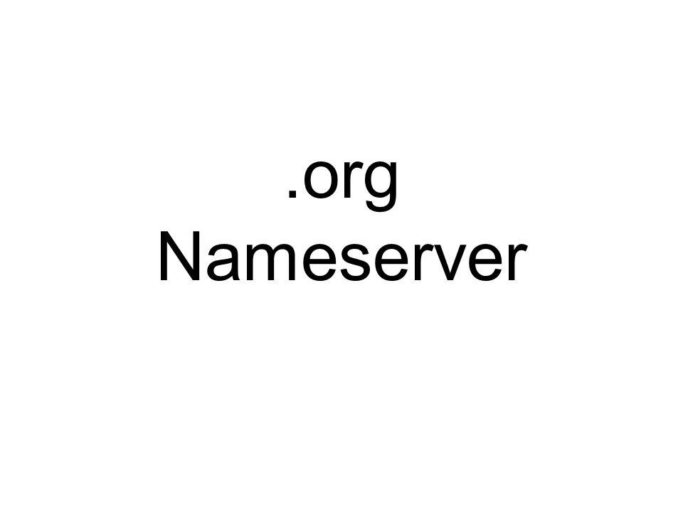 .org Nameserver