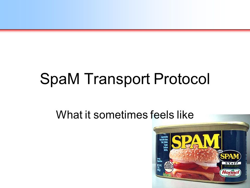SpaM Transport Protocol