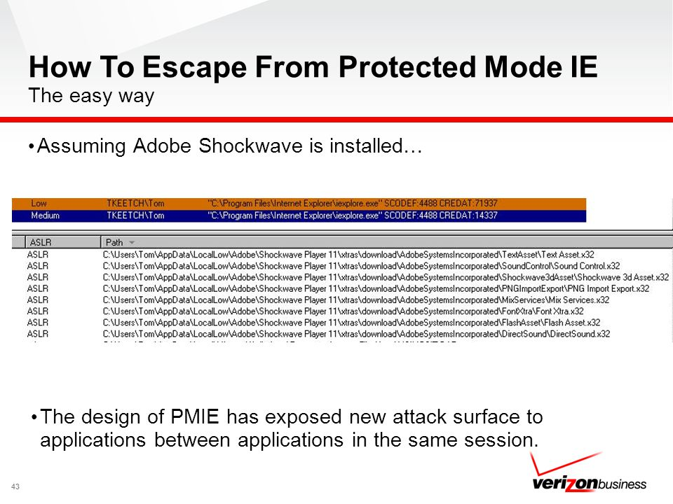 How To Escape From Protected Mode IE The easy way