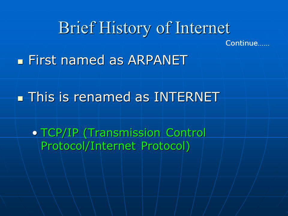 the growth and a brief history of the internet Electronic communication has had an ongoing progression dating back to the invention of the telegraph and the telephone with the invention of the internet, communication took an expansive leap forward not only does the internet enable interaction on a wide scale through the use of computers, but it also enables.
