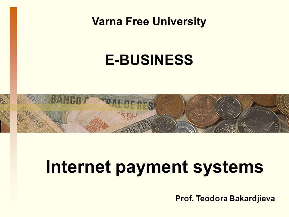 Internet payment systems