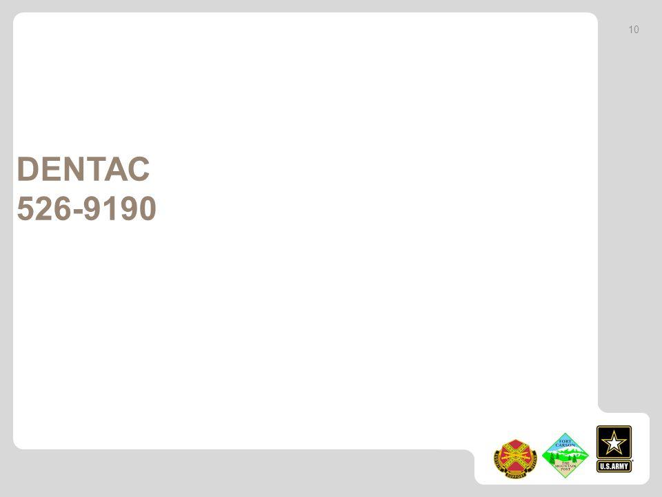 10 DENTAC 526-9190