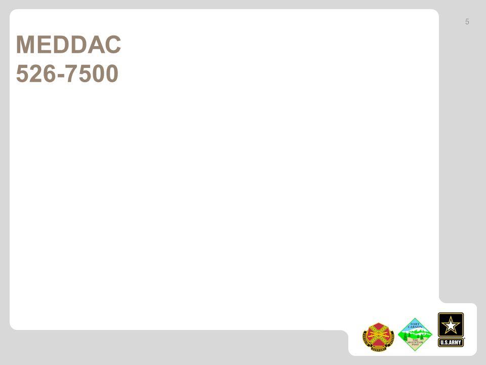 5 MEDDAC 526-7500