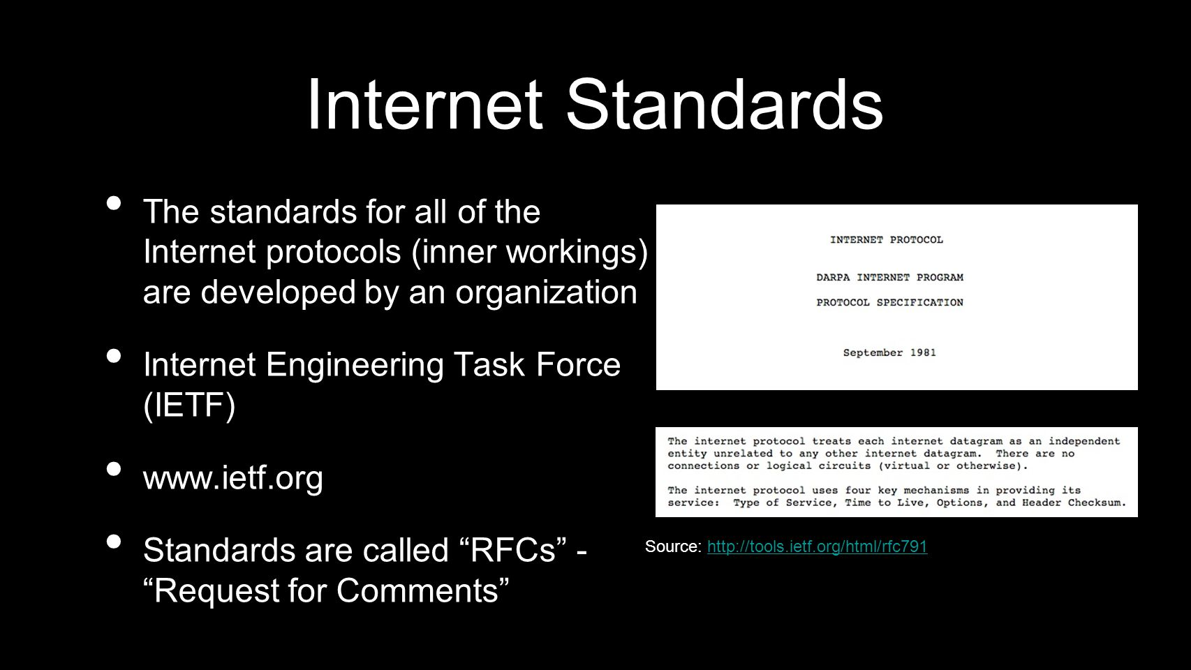 Source: http://tools.ietf.org/html/rfc791