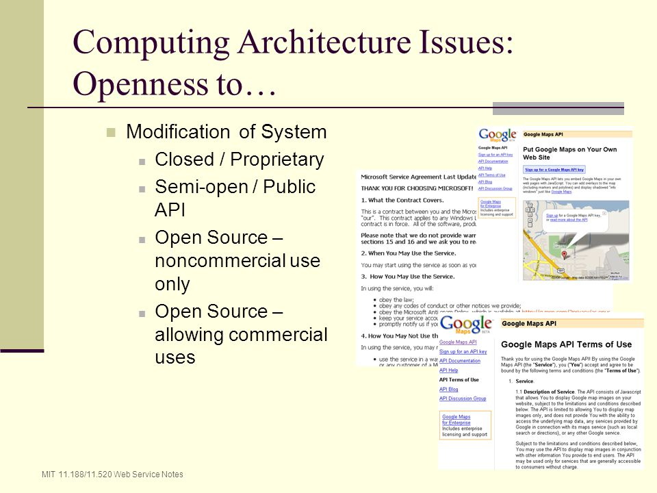 Computing Architecture Issues: Openness to…