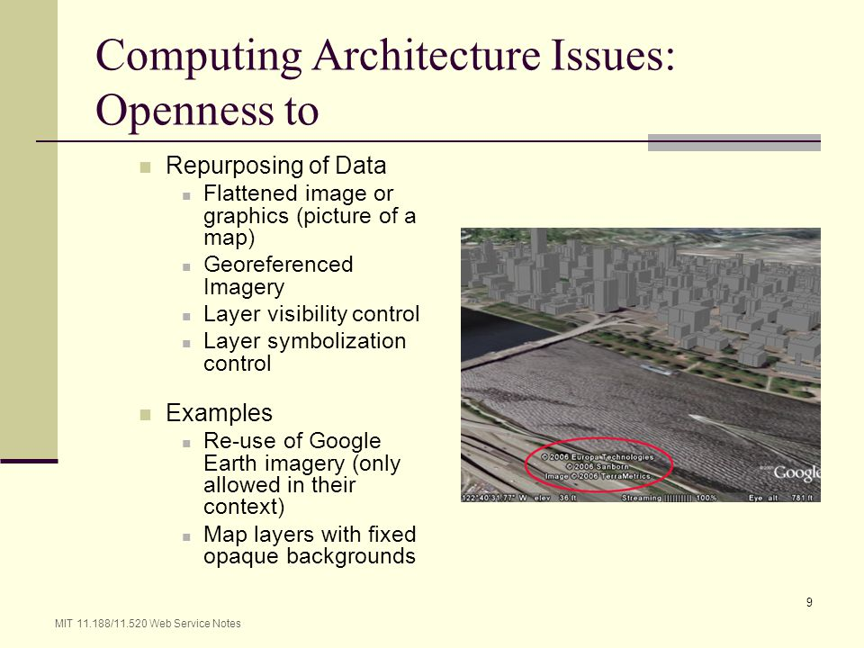 Computing Architecture Issues: Openness to