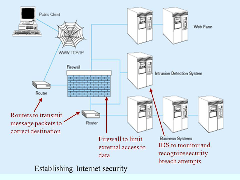 Establishing Internet security