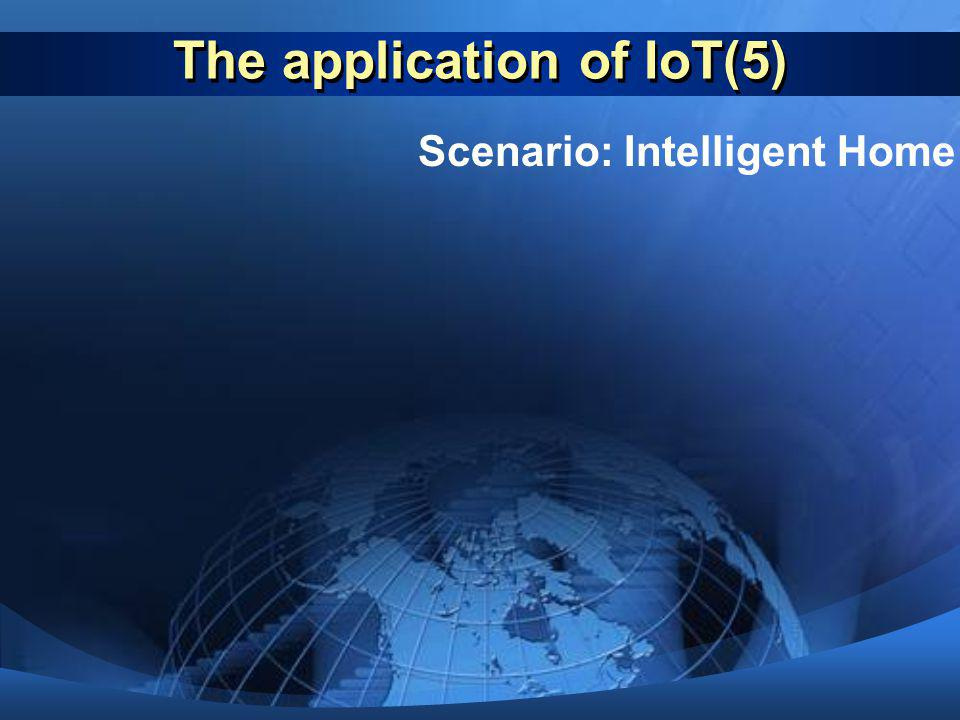 The application of IoT(5)