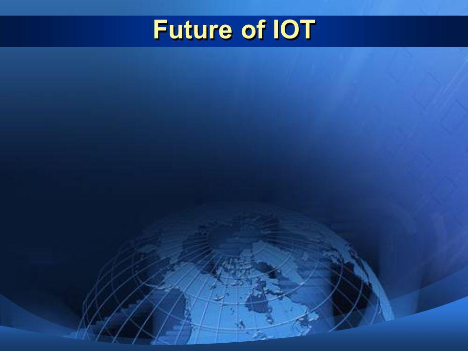 Future of IOT Technology trends