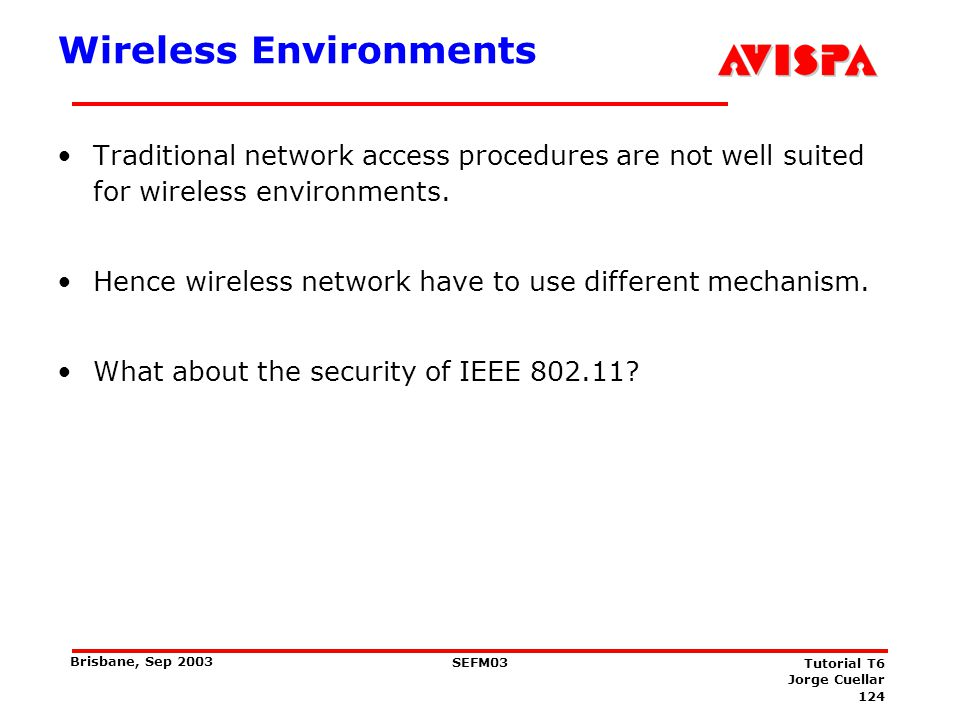 IEEE 802.11 Background WEP (Wired Equivalent Privacy)