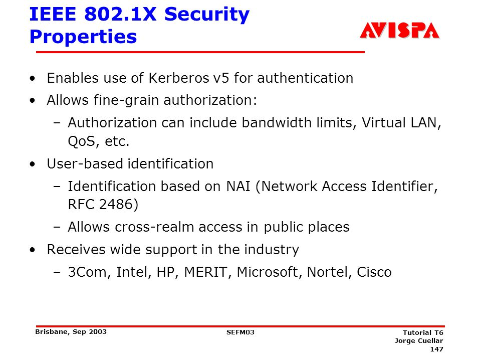 EAP Architecture The Extensible Authentication Protocol TLS OTP SRP