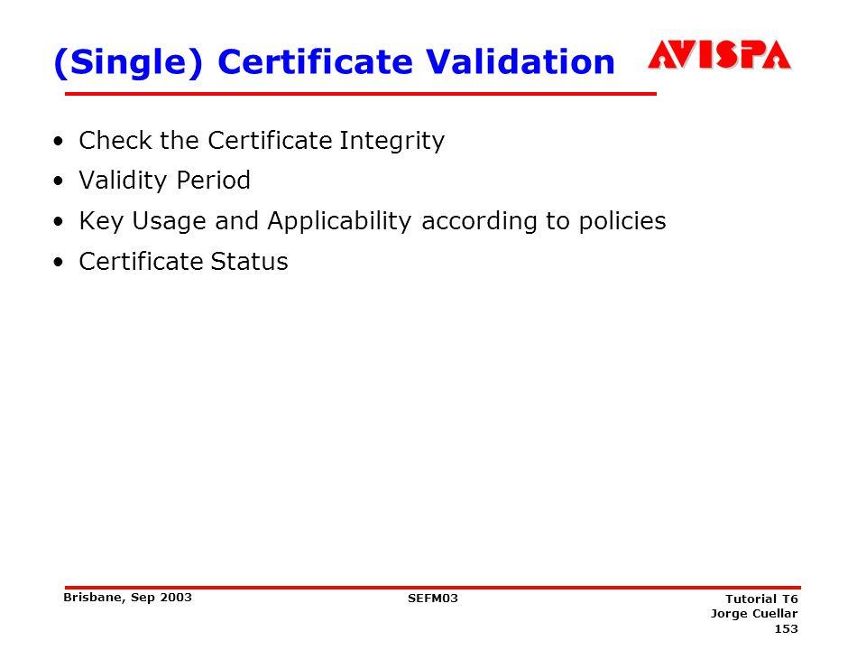 How do I Verify this Certificate