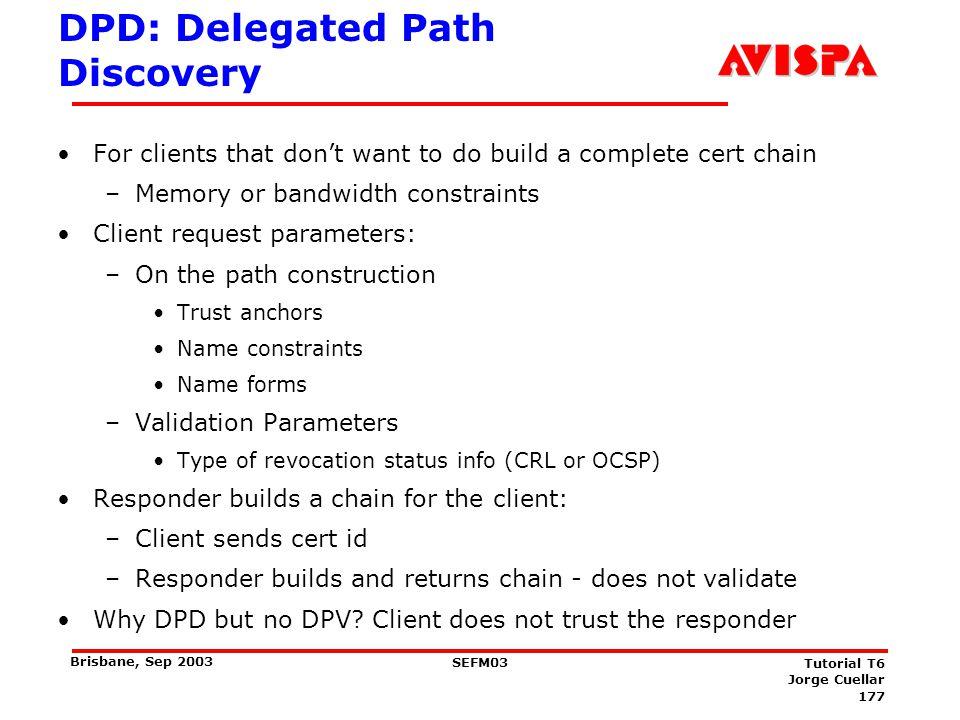 DPV: Delegated Path Validation