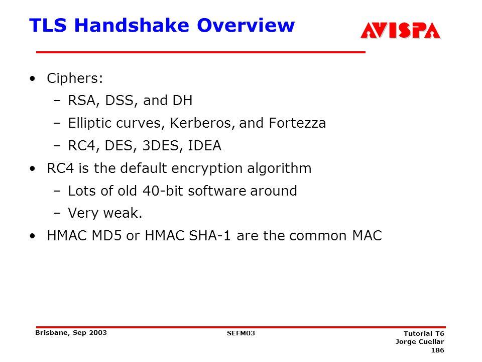 The TLS Handshake Protocol