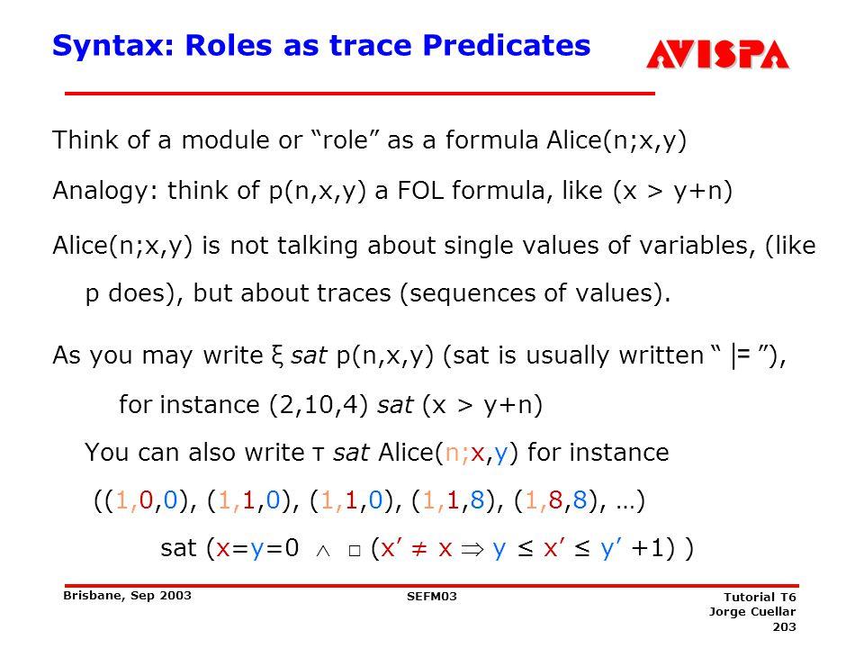 Syntax: Variables, Predicates