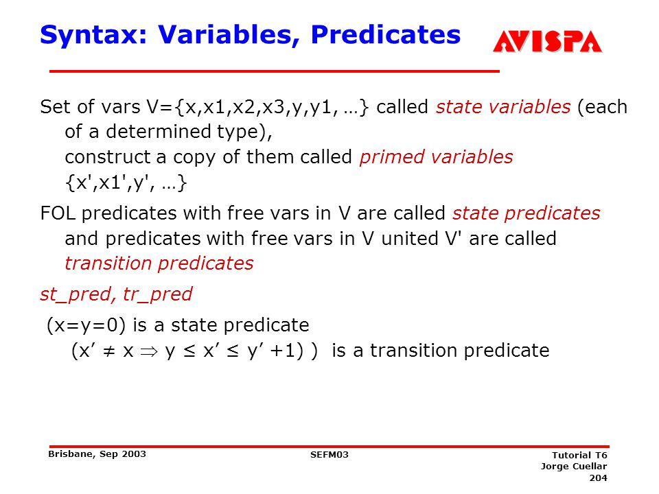 Syntax: Events, Stuttering
