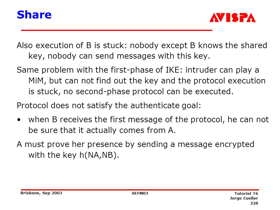 Share See this part of protocol as a challenge, add the response:
