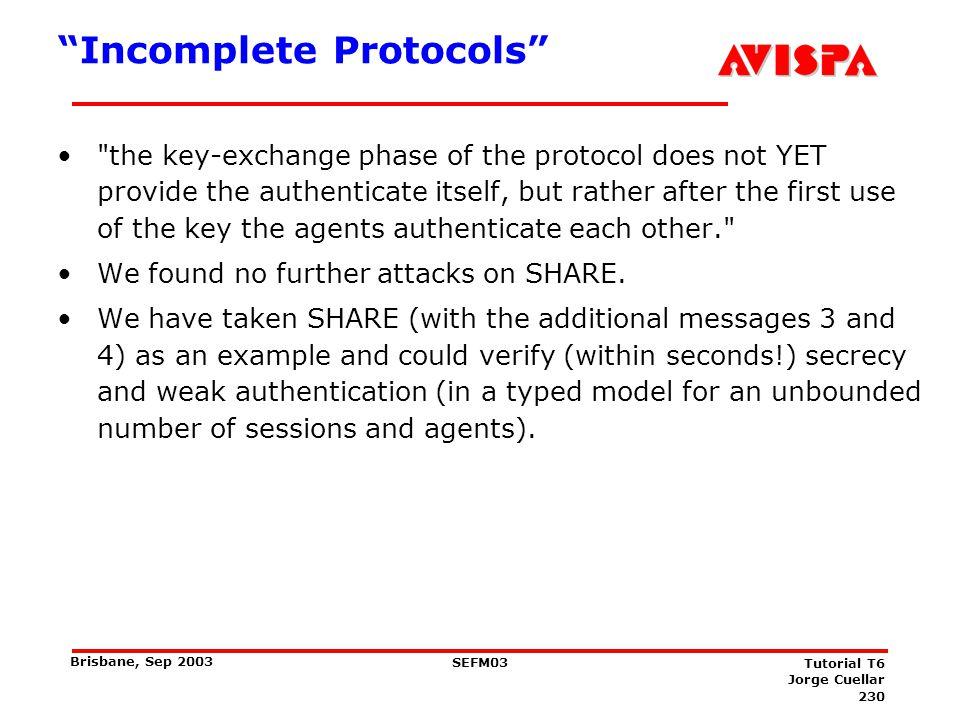 List of Protocols SHARE UMTS-AKA 3GPP ISO Pub Key wout T3 Party