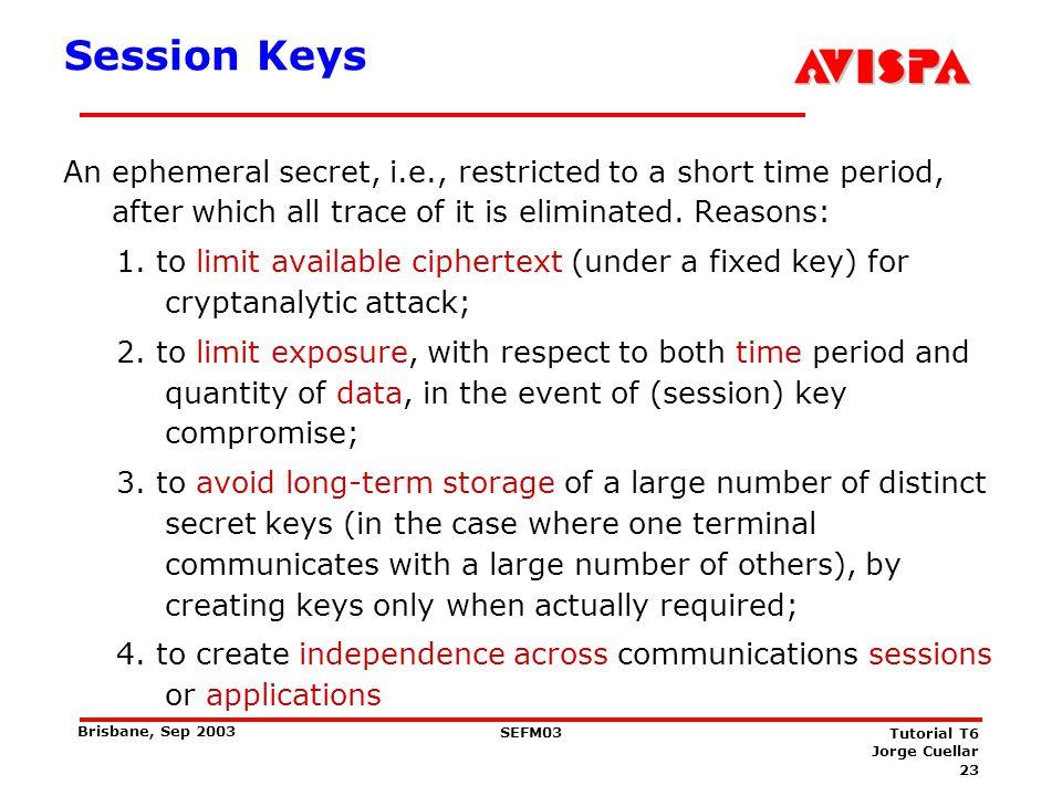 Key Agreement -Classification
