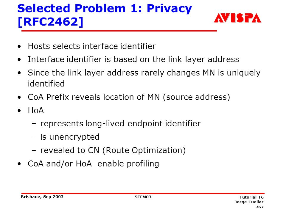 Solutions for Privacy Problem