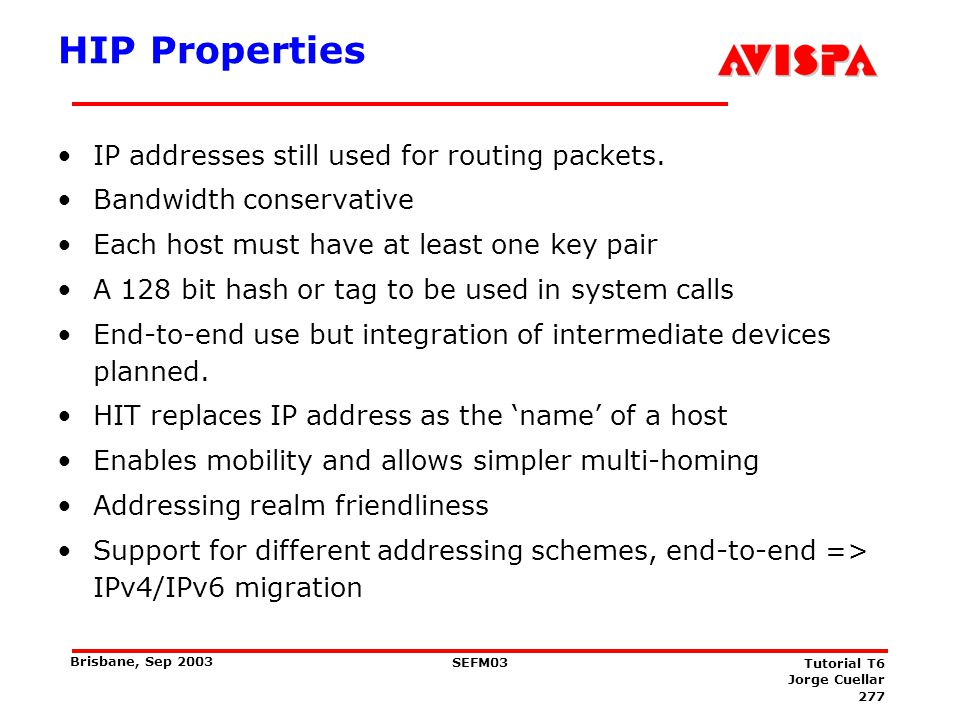 What about PKI and HIP HIP assumes interaction with DNS