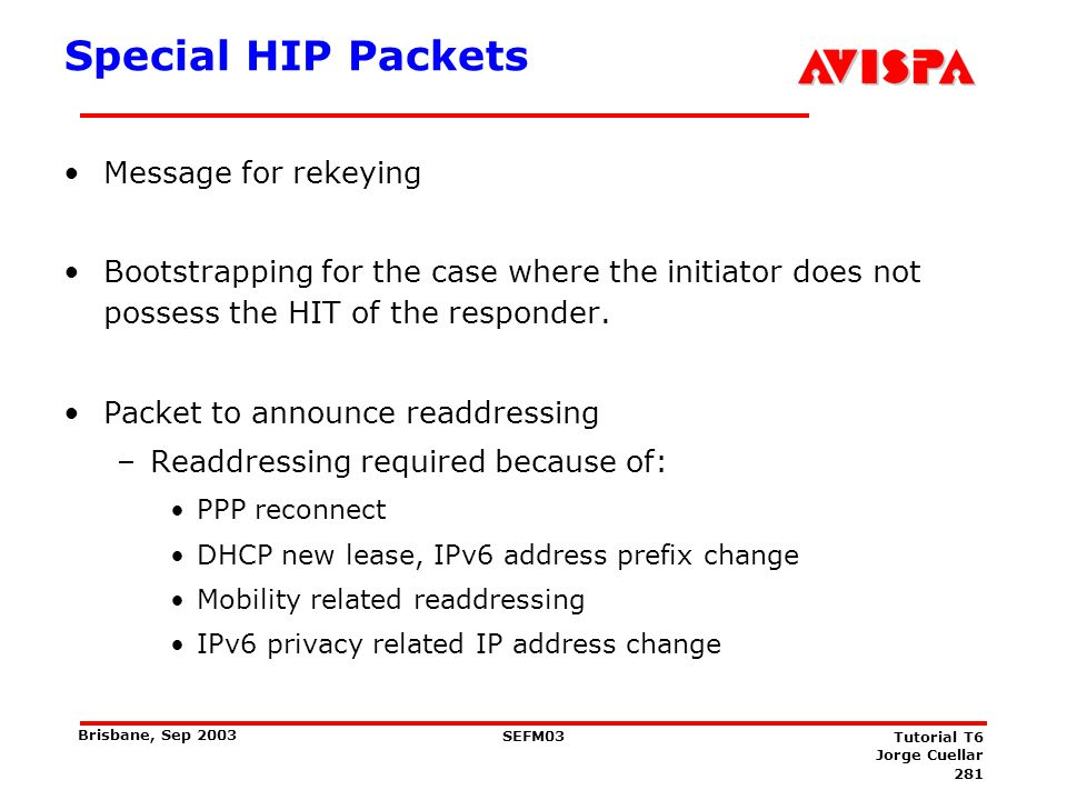 Summary HIP introduces new and interesting concepts.