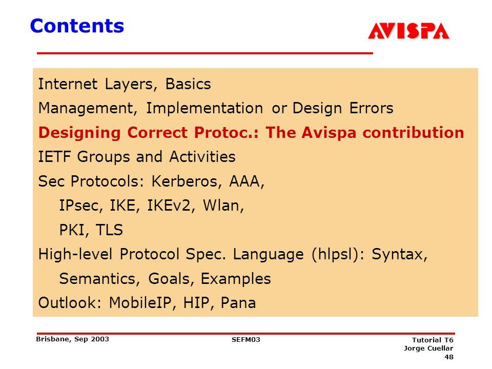 Avispa http://www.avispa-project.org