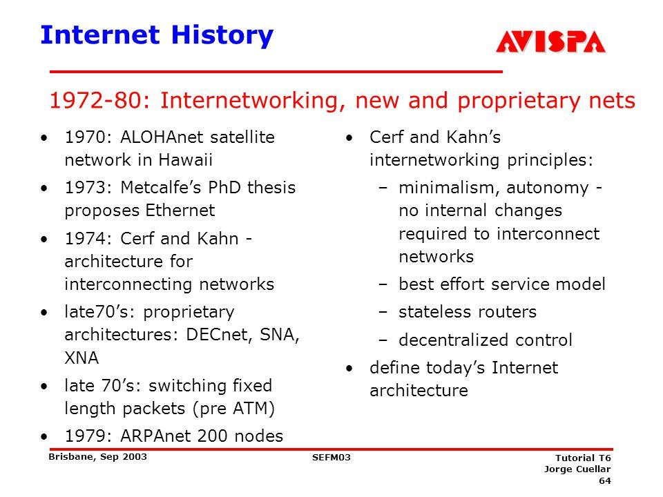 Internet History 1980-1990: new protocols, a proliferation of networks