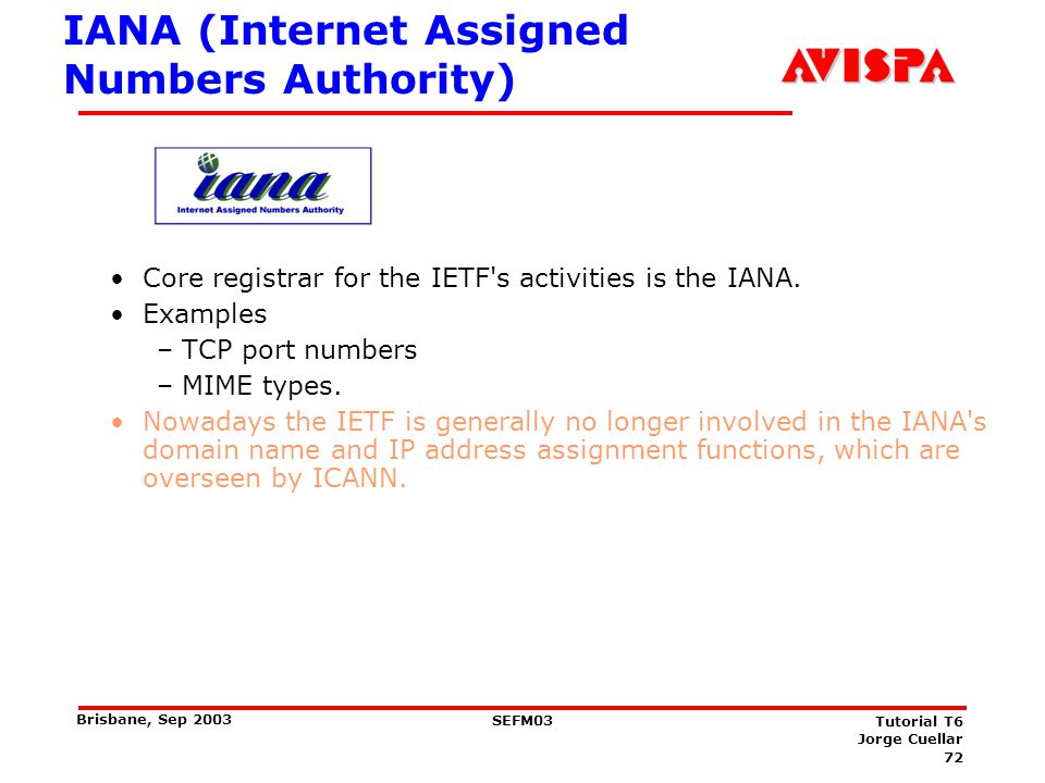 IESG Technical management of IETF activities and the Internet standards process. Get WGs started and finished.